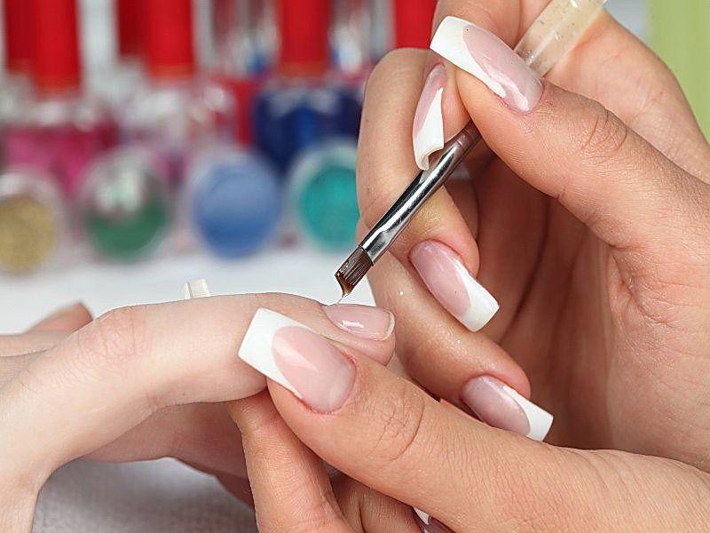 Как сделать коррекцию на нарощенных ногтях 146